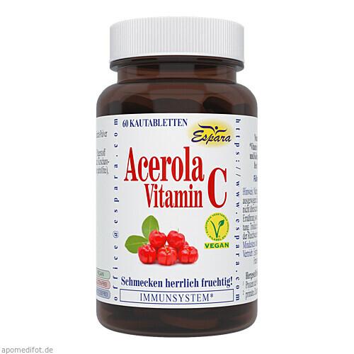 Acerola Vitamin C, 60 ST, Espara GmbH