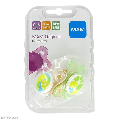 MAM Original Latex 0-6 Monate, 2 ST, Mam Babyartikel GmbH