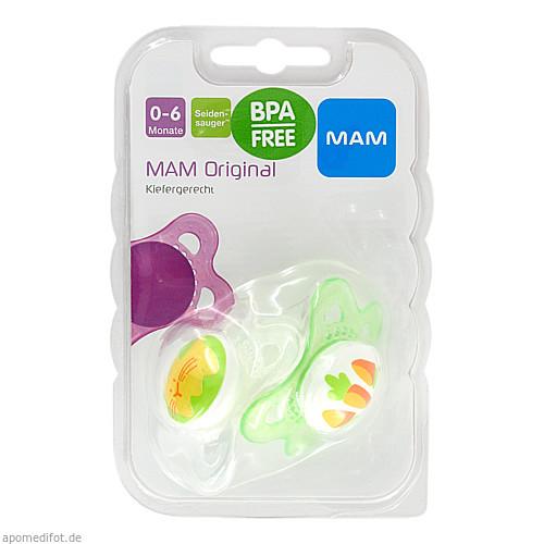 MAM Original Silikon 0-6 Monate, 2 ST, Mam Babyartikel GmbH