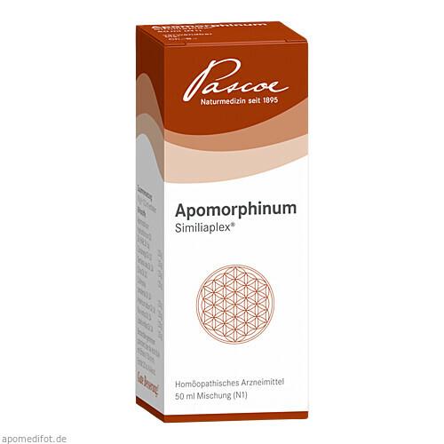APOMORPHINUM SIMILIAPLEX, 50 ML, Pascoe pharmazeutische Präparate GmbH
