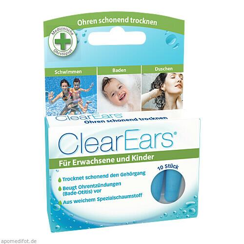 ClearEars Ohrstöpsel zur Wasserentfernung, 10 ST, Cirrus Healthcare Products