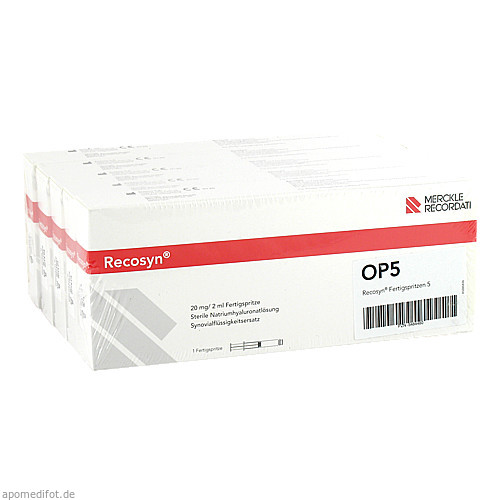 Recosyn, 5 ST, Recordati Pharma GmbH