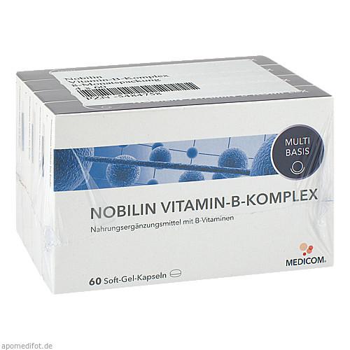 Nobilin Vitamin-B-Komplex, 4X60 ST, Medicom Pharma GmbH