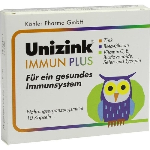 Unizink Immun Plus, 1X10 ST, Köhler Pharma GmbH
