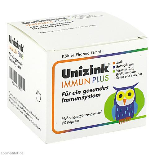 Unizink Immun Plus, 1X90 ST, Köhler Pharma GmbH