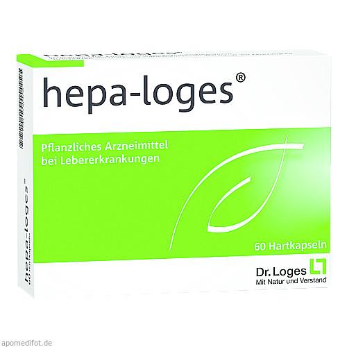 HEPA LOGES Hartkapseln, 60 ST, Dr. Loges + Co. GmbH