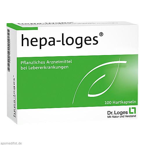 HEPA LOGES Hartkapseln, 100 ST, Dr. Loges + Co. GmbH