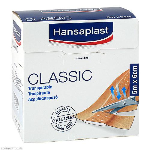 HANSAPLAST Classic Pflaster 5mx6cm, 1 ST, 1001 Artikel Medical GmbH