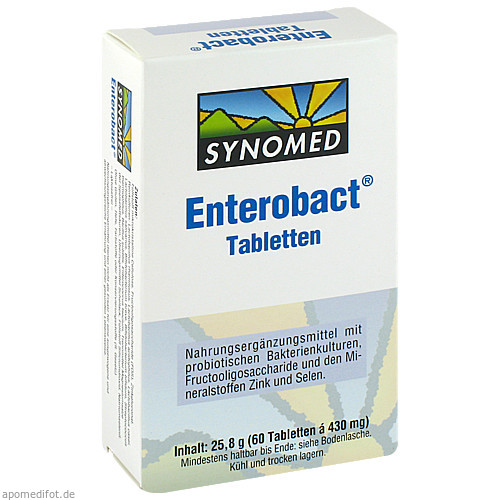 Enterobact Tabletten, 60 ST, Synomed GmbH