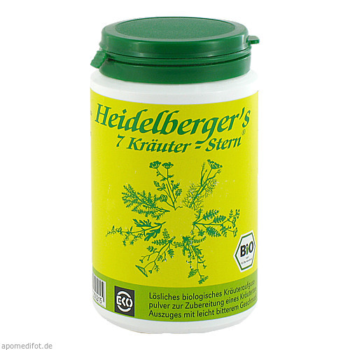 BIO Heidelbergers 7 Kräuter Stern, 100 G, Gesundheitsversand A. Heine GmbH