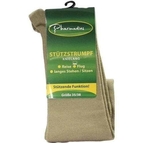 Pharmadies Stützstrumpf beige Gr. 35-38, 2 ST, Otc Siebenhandl GmbH