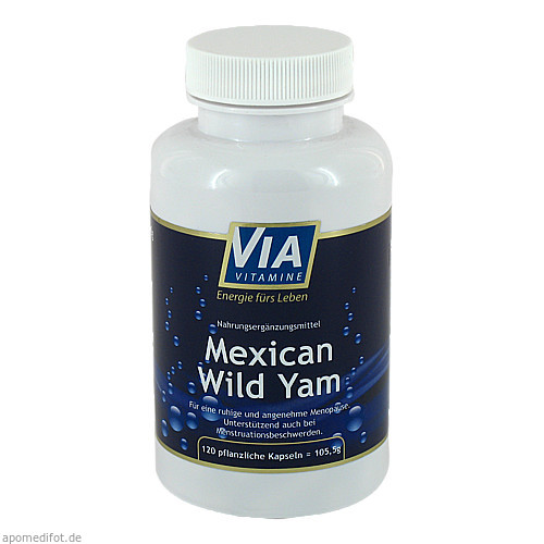 Mexican Wild Yam, 120 ST, Apotheken Marketingpartner AG