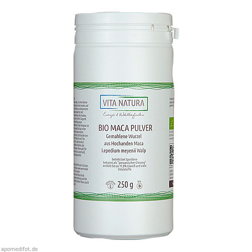 Maca Wurzel Pulver, 250 G, Vita Natura GmbH & Co. KG