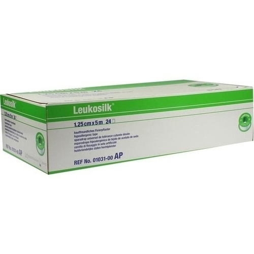 Leukosilk 5mx1.25cm 1031, 24 ST, Bios Medical Services GmbH