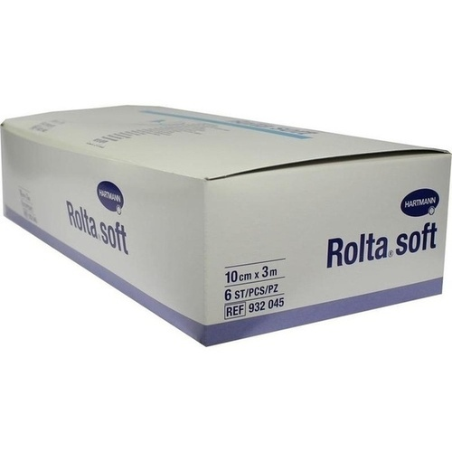 Rolta soft Synth.-Wattebinde 3mx10cm, 6 ST, Bios Medical Services GmbH