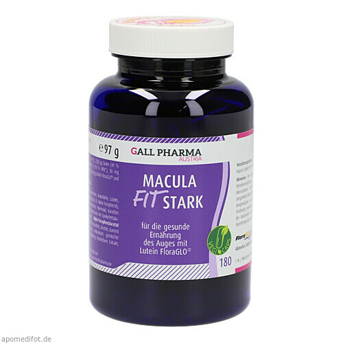 Macula-Fit stark GPH Kapseln, 180 ST, Hecht-Pharma GmbH