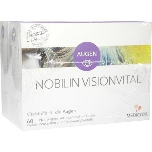 NOBILIN Visionvital Kapseln, 2X60 ST, Medicom Pharma GmbH