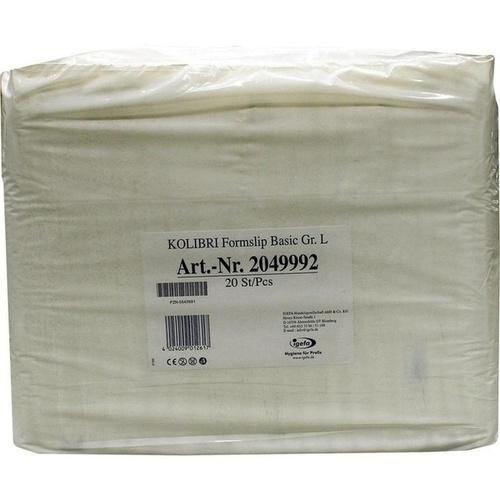 KOLIBRI Formslip Basic large, 20 ST, Igefa Handelsgesellschaft Mbh & Co. KG