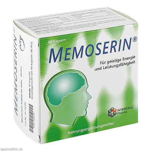 MEMOSERIN Kapseln, 90 ST, INTERCELL-Pharma GmbH