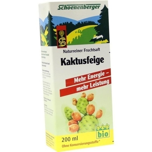 Kaktusfeige Bio Schoenenberger, 200 ML, Salus Pharma GmbH
