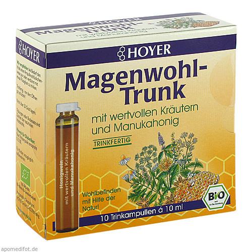 HOYER Magenwohl-Trunk Trinkampullen, 10X10 ML, Kyberg Pharma Vertriebs GmbH