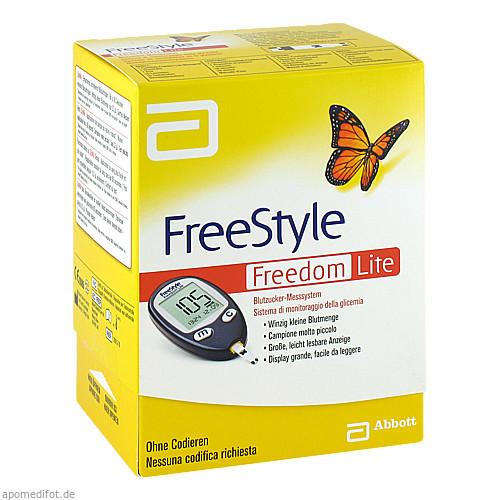 FreeStyle Freedom LITE Set mg/dl ohne Codieren, 1 ST, Abbott GmbH