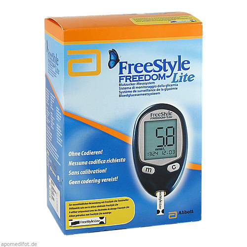 FreeStyle Freedom LITE Set mmol/l ohne Codieren, 1 ST, Abbott GmbH & Co. KG Abbott Diabetes Care