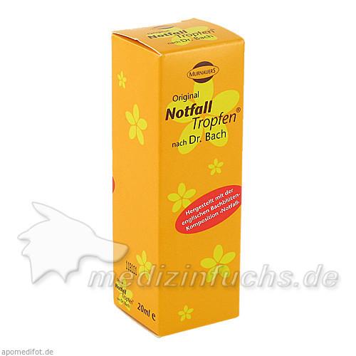 NOTFALL TROPFEN nach Dr.Bach, 20 ML, Murnauer Markenvertrieb GmbH