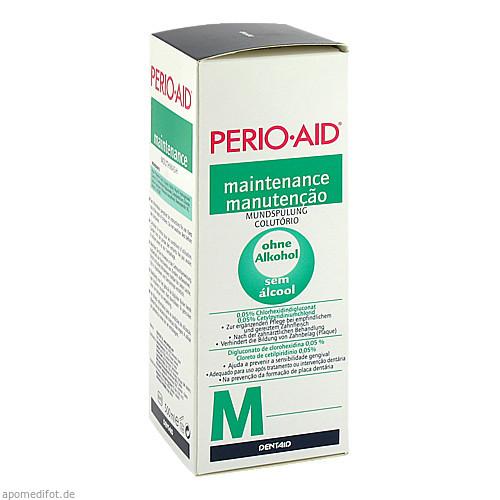 PERIO-AID maintenance Mundspülung, 500 ML, DENTAID GmbH