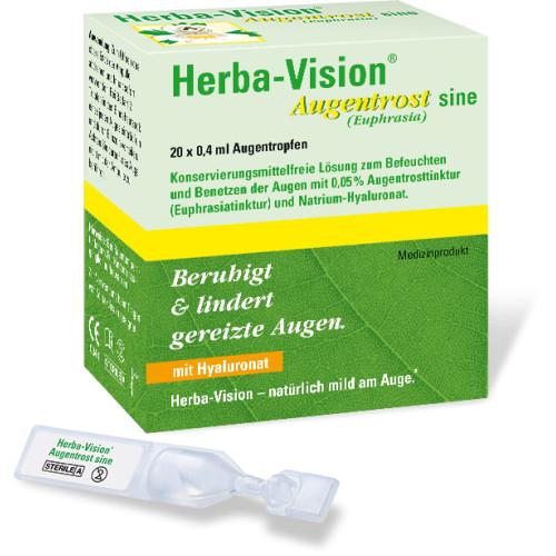 Herba-Vision Augentrost sine, 20X0.4 ML, Omnivision GmbH