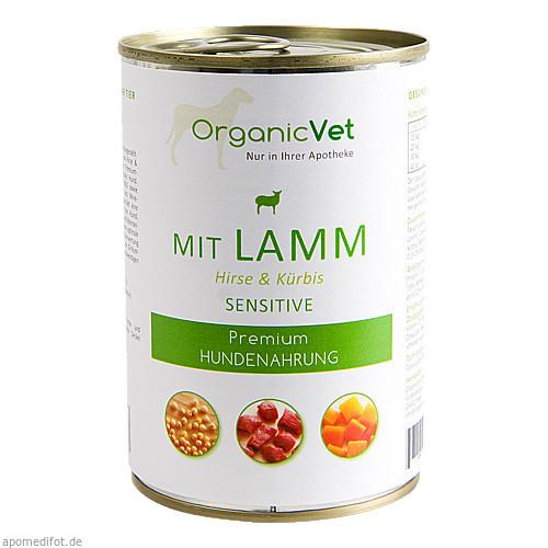 Dosennahrung Hund Sensitive Lamm, 400 G, Organicvet GmbH