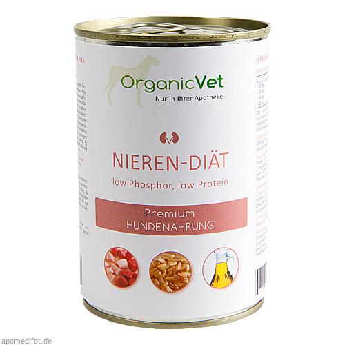 Dosennahrung Hund Nieren-Diät, 400 G, Organicvet GmbH