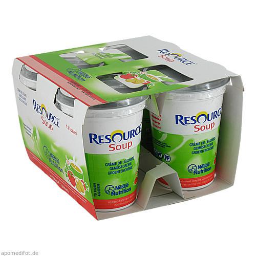 Resource SOUP Gemüse, 4X200 ML, Ghd Direkt Ii GmbH Vertriebslinie Nestle