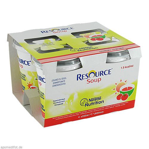 Resource SOUP Sommertomate, 4X200 ML, Ghd Direkt Ii GmbH Vertriebslinie Nestle