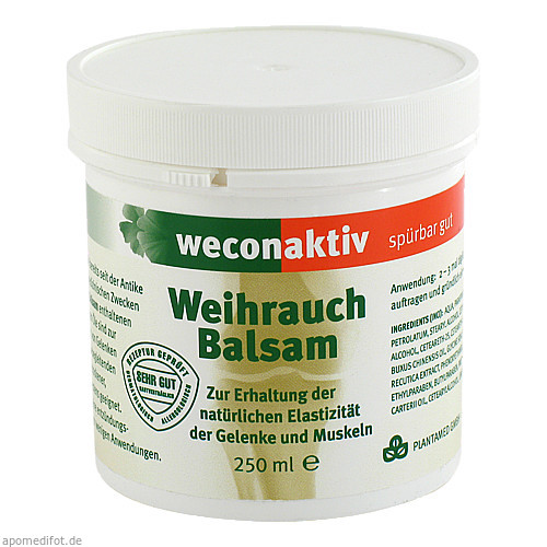 weconaktiv Weihrauch Balsam, 250 ML, Weber Consult