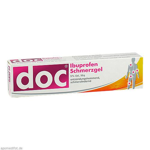 Doc Ibuprofen Schmerzgel, 50 G, Hermes Arzneimittel GmbH