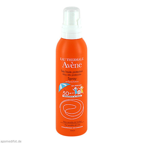 AVENE SunSitive Kinder Sonnenspray SPF 50+, 200 ML, PIERRE FABRE DERMO KOSMETIK GmbH GB - Avene