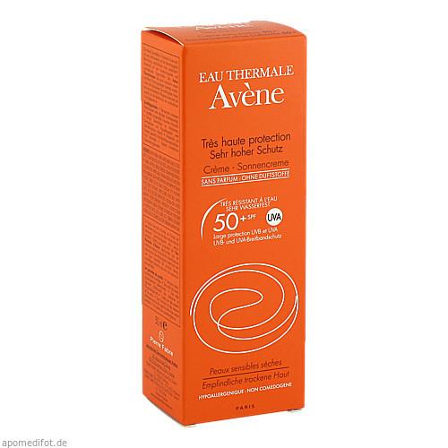 AVENE SunSitive Sonnencreme o. Duftstoffe SPF 50+, 50 ML, Pierre Fabre Pharma GmbH
