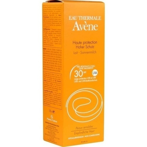 AVENE SunSitive Sonnenmilch SPF 30, 100 ML, PIERRE FABRE DERMO KOSMETIK GmbH GB - Avene