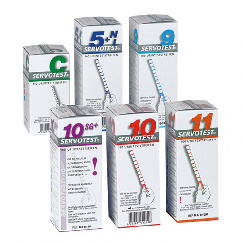 Servotest 10SG-Plus Urinteststreifen, 100 ST, Diaprax GmbH