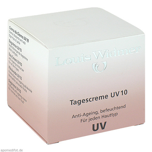WIDMER Tagescreme UV 10 leicht parfümiert, 50 ML, Louis Widmer GmbH