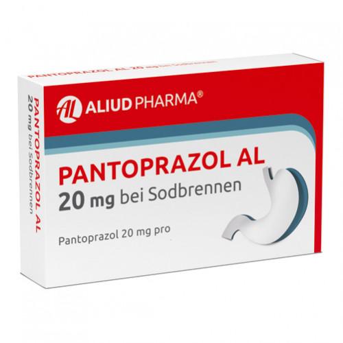 Pantoprazol AL 20mg bei Sodbrennen, 14 ST, Aliud Pharma GmbH