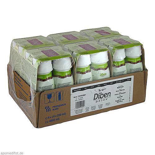 DIBEN DRINK WALDFRUCHT (1.5 KCAL/ML), 24X200 ML, Fresenius Kabi Deutschland GmbH