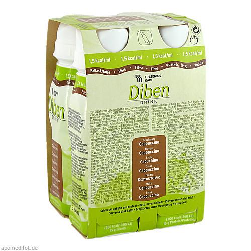 DIBEN DRINK CAPPUCCINO (1.5 KCAL/ML), 4X200 ML, Fresenius Kabi Deutschland GmbH