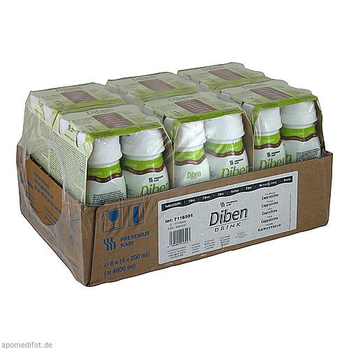 DIBEN DRINK CAPPUCCINO (1.5 KCAL/ML), 24X200 ML, Fresenius Kabi Deutschland GmbH