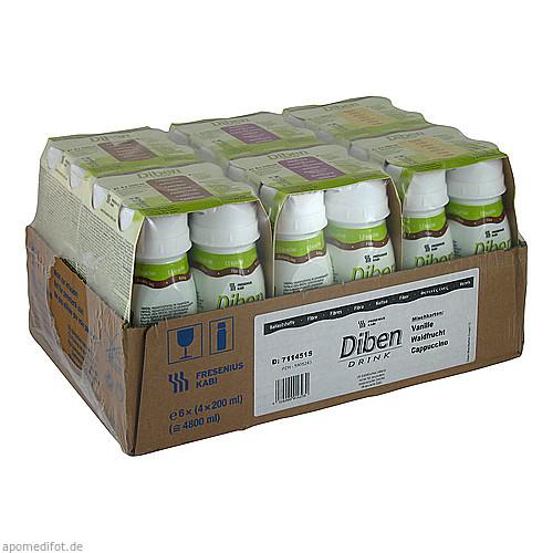 DIBEN DRINK MISCHKARTON (1.5 KCAL/ML), 24X200 ML, Fresenius Kabi Deutschland GmbH