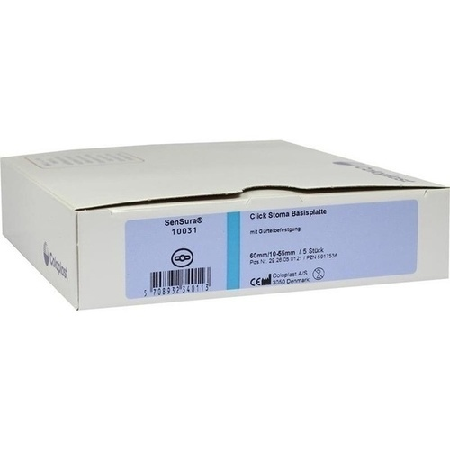 SenSura Basisp.m.Gürtelbefest.60RR ausschn.10-55mm, 5 ST, Coloplast GmbH