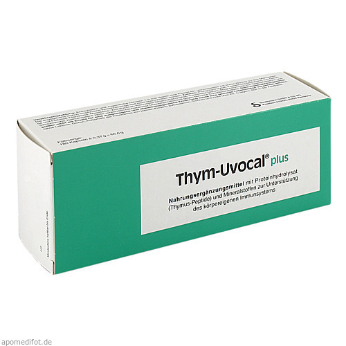 Thym-Uvocal plus, 180 ST, Strathmann GmbH & Co. KG