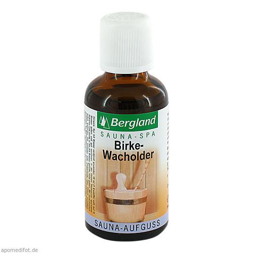 Sauna-Aufguss Birke-Wacholder, 50 ML, Bergland-Pharma GmbH & Co. KG