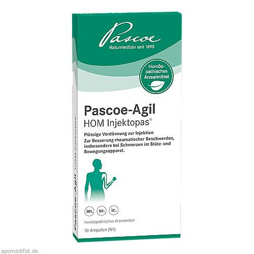 PASCOE-Agil HOM Injektopas, 10X2 ML, Pascoe pharmazeutische Präparate GmbH